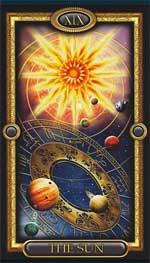 Карта Солнце - значение