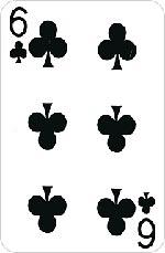 6 треф (крести)