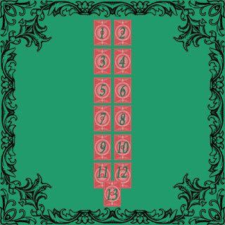 новогоднее гадание на 13 игральных картах
